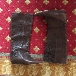 Loeffler Randall leather boots - make me an offer!